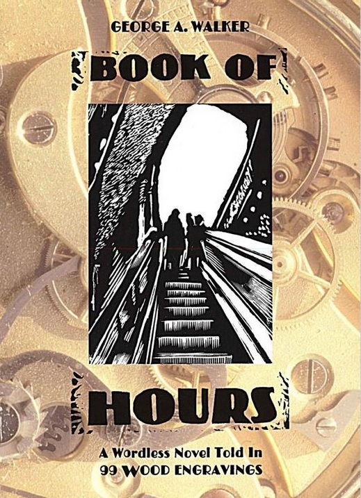Book of Hours: A Wordless Novel Told in 99 Wood Engravings cover