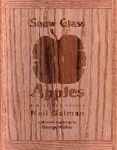 Snow Glass Apples Boxed Presentation Copies